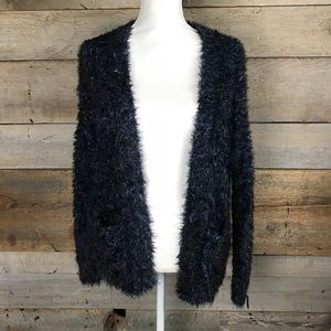 Top shop over sized fuzzy sweater